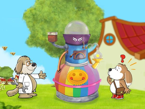 The Rainbow Machine and Tobi