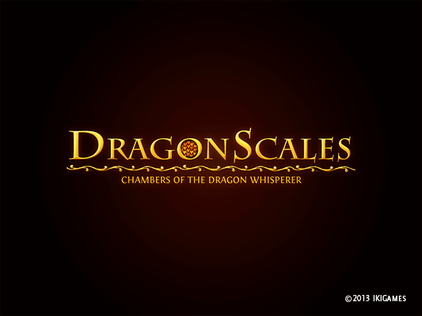 DragonScales Logo (Black background)