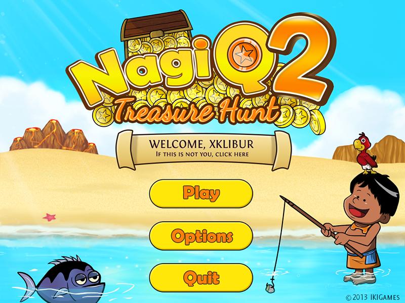 NagiQ 2 Main Scene
