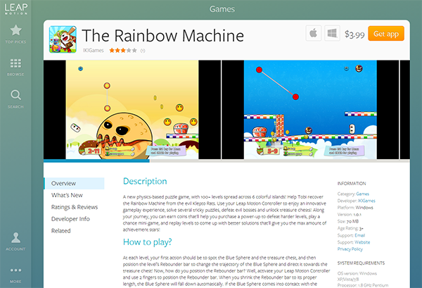 The Rainbow Machine Air Edition