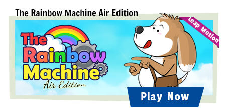 The Rainbow Machine Air Edition Banner
