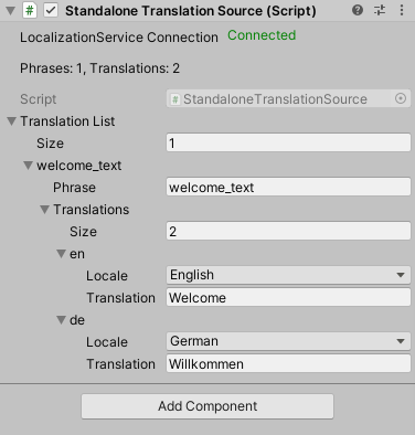 Localization in Unity with No Such Localization